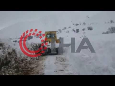 Adıyaman'da kar yağışı etkisini sürdürüyor, 248 yerleşim birimine ulaşım sağlanamıyor