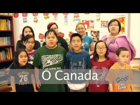 O Canada - Inuvialuktun (Siglitun)