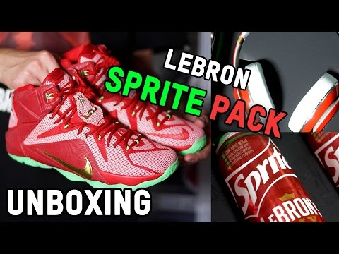"""Lebron """"SPRITE MIX"""" Pack Review + Unboxing!"""