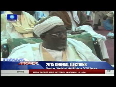 VP Sambo, Muslim Leaders  Brainstorms Over Non-violent Polls