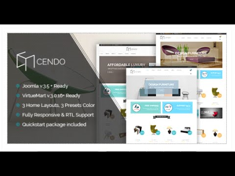 Vina Cendo - Multipurpose Joomla Virtuemart Template - CMS Themes ...