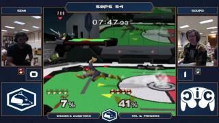 S@PS 34 Melee Singles - Semi (Link/Falcon) vs Soupo (Marth) - Winner's Quarters