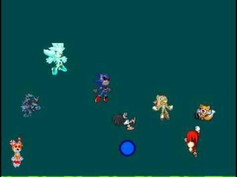 sonic vs shadow vs silver vs tails doll vs metal sonic vs ...