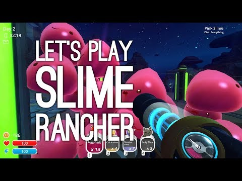 Let's Play Slime Rancher on Xbox One: YOU DISGUST ME SLIMES