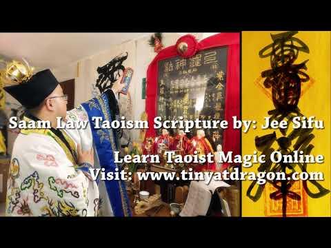 Taoist Chanting for Peace - Saam Law Taoism