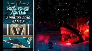 Teal Town After Dark (Postgame) - San Jose Sharks vs Vegas Golden Knights GAME 7 - 4/23/2019