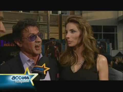 Sylvester Stallone Access Hollywood Interview