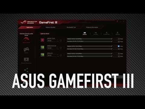 ASUS GameFirst III Overview With JJ