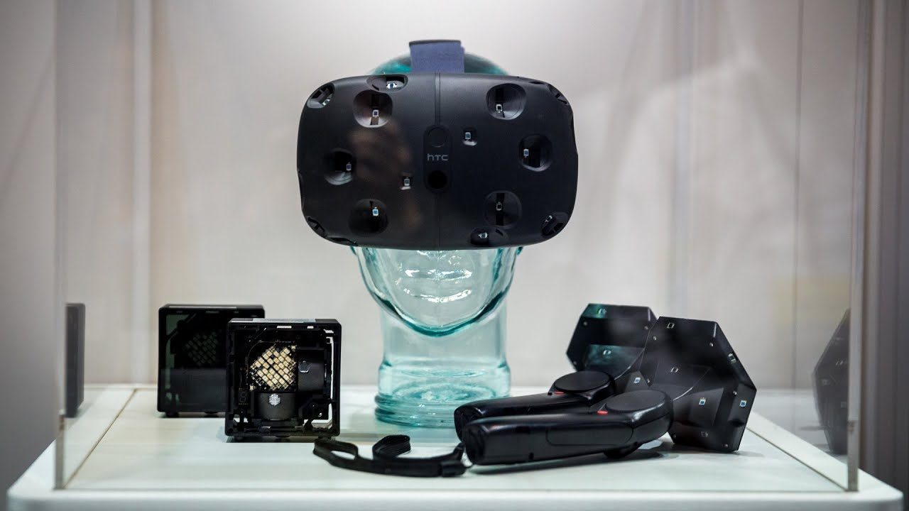 SteamVR (HTC Vive) Prototype Hands-On + Impressions - YouTube