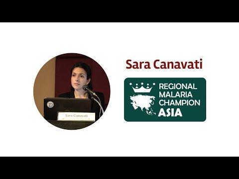 Asia-Pacific Malaria Hero winner: Sara Canavati