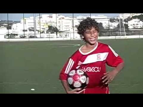 Edi soccer player and is Ball Control with 11 years old