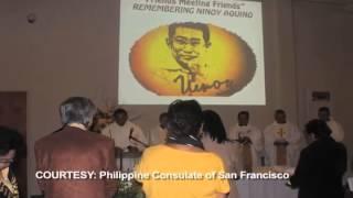 U.S. Aquino family observes Ninoy's 31st death anniversary at SF Consulate