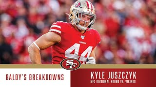 Baldy's Breakdowns: Kyle Juszczyk's Dominance vs. Vikings | 49ers