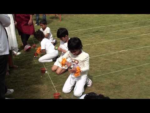 Sivaana Academy - Sports Day Events 2014 - Hurdle Race