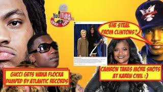camron takes more shots at karen civil   waka flocka dropped from atlantic records   live