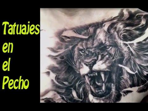 Tatuajes En El Pecho Fotos Y Ideas Youtube