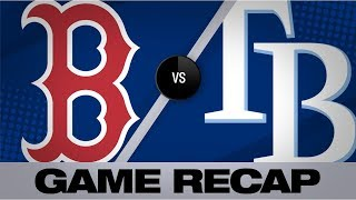 Vazquez, Eovaldi lead Red Sox in 7-4 win | Red Sox-Rays Game Highlights 9/22/19