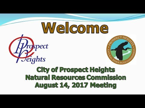 August 14, 2017 Natural Resources Commission