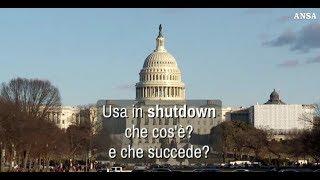 Usa in shutdown, che cos'e' e che succede