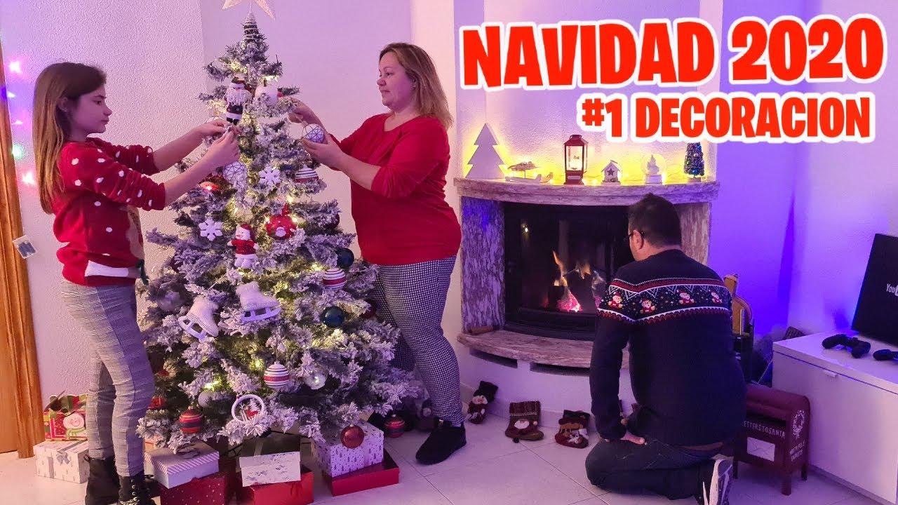 COMO DECORAMOS NUESTRA CASA (De Navidad) MONTAMOS El Arbol + ¡SUPER SORTEO! NAVIDEÑO