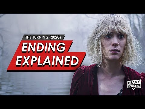 THE TURNING Ending Explained Breakdown + Full Movie Fan Theory | Book Differences & Spoiler Review