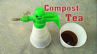 How to Make Compost Tea at Home  | Manure tea  | Garden tips // Mammal Bonsai