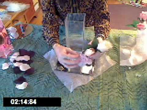 How To Make A Wedding Reception Table Centerpiece Youtube