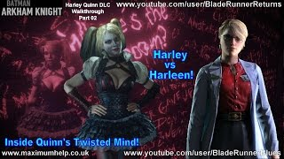 Harley vs Harleen! Inside Quinn