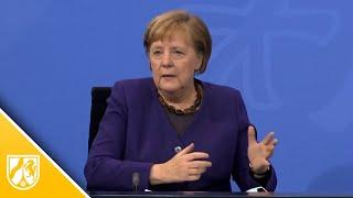 Teil-Lockdown verlängert - Kanzlerin Merkel erklärt warum