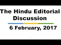 Hindi,6 February, 2017, The Hindu Editorial Discussion, Diseases Elimination, NPA