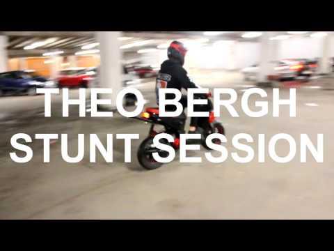 Yamaha Slider Stunt Session | Theo Bergh