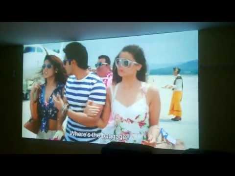 PowerLite Home Cinema 710HD - Demo Video taken by Samsung Grand