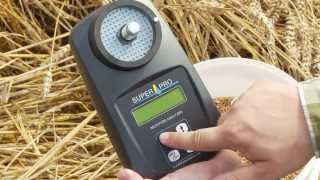 SUPERPRO - Moisture analyzer for grain and seed