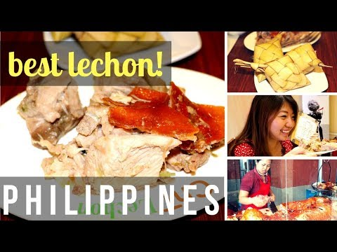 EATING LECHON IN CEBU | PHILIPPINES ft. CupofTJ