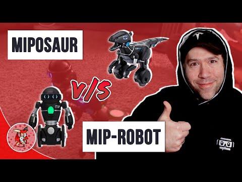 MiPosaur Battling MiP Robot Round One