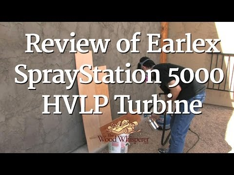 45 - Review of Earlex SprayStation 5000 HVLP Turbine