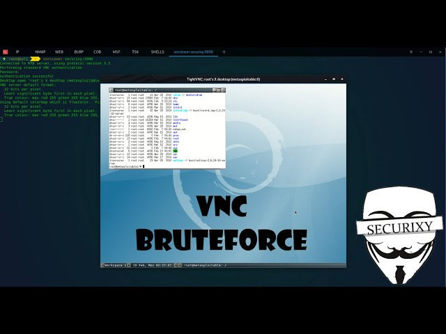 Атака на протокол удаленного доступа VNC | Metasploitable 2