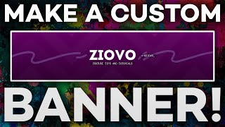 How to Make A YouTube Banner in 2020! (YouTube Channel Art Tutorial)