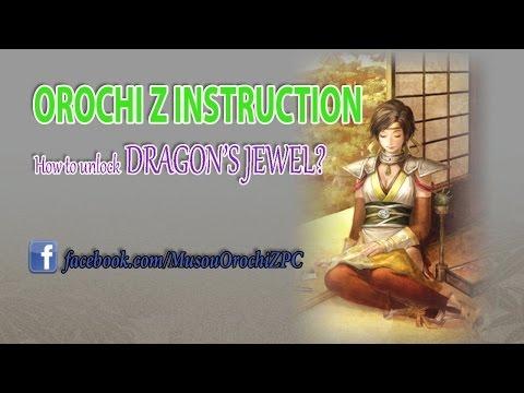 Orochi Z PC Treasure guide How to unlock Dragon Jewel