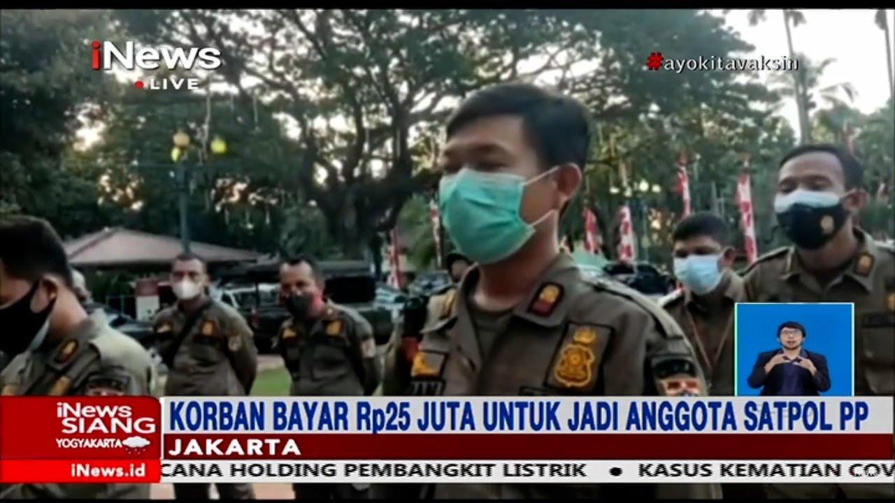 Download Polisi Tangkap Pelaku Penipuan Satpol PP di Rumahnya, Bekasi #iNewsSiang 28/07