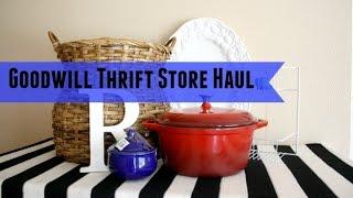 Goodwill Haul #1 - Thrift Store Haul