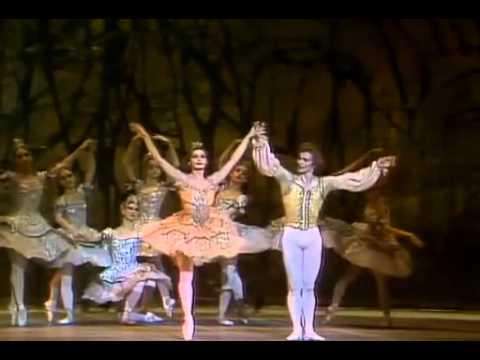 National Ballet of Canada 1972 La bella durmiente  Rudolf Nureyev and Veronica Tennean