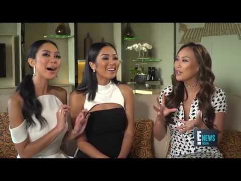 Dorothy Wang  Maria and Elizabeth Rahajeng  E!  Asia  E!
