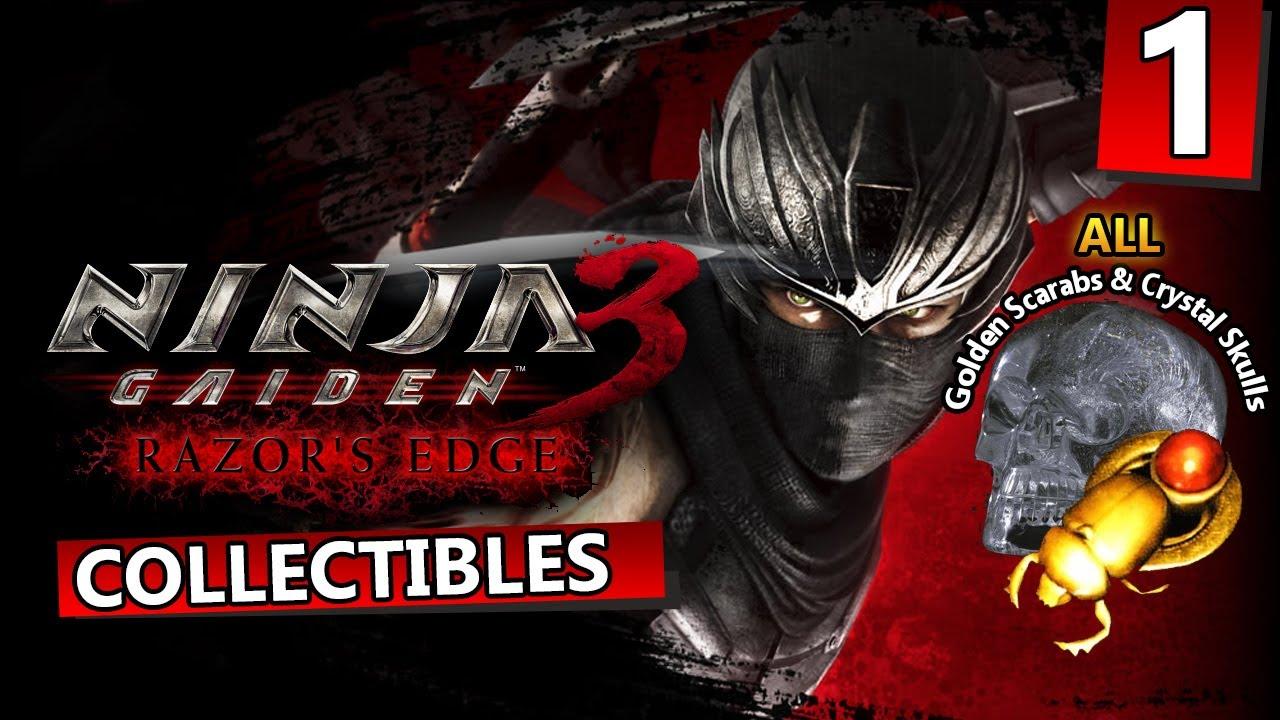 Ninja Gaiden 3 Razor S Edge All Collectibles Day 1 Ryu Xbox 360