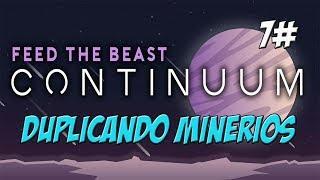 FTB Continuum - Duplicando minerios: Tech Reborn - Minecraft 1.12.2 - PTBR - ep.7