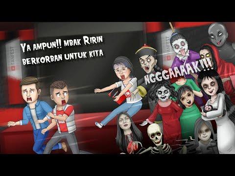 Dikejar Fans Hantu - Youtube Fanfest | Kartun Lucu, Kartun Hantu, Animasi Horor #HORORKOMEDI