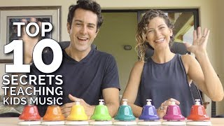 10 Secrets to Teaching Kids Music -  FREE TRAINING