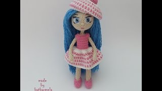 Вязание крючком куклы амигуруми: Натали
