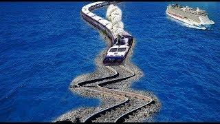 ప్రపంచంలోనే 10 భయంకరమైన  రైలు మార్గాలు  10 dangerous train routes/railway routes in the world