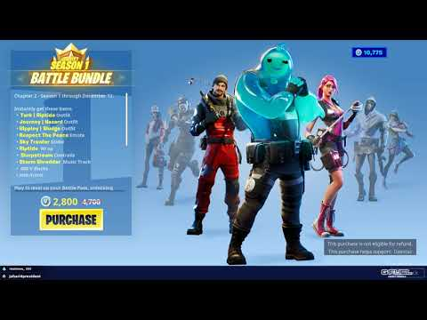 FORTNITE CHAPTER 2 SEASON 1 BATTLE PASS